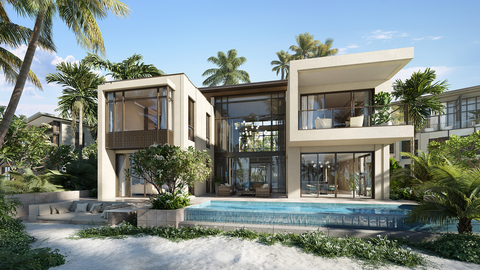 Beach villa SP