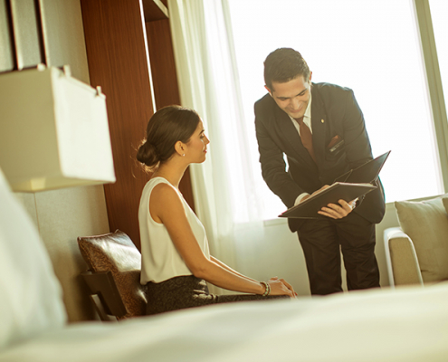 Personalised In-room Check In Experience